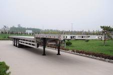 丛林牌LCL9402TDP型铝合金低平板半挂车
