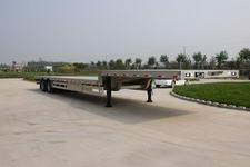 丛林牌LCL9403TDP型铝合金低平板半挂车