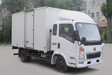 豪泺牌ZZ5047XXYD3815C145型厢式运输车图片