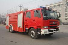 中卓时代牌ZXF5190GXFAP70型A类泡沫消防车