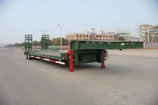中集14米27.6吨4轴低平板半挂车(ZJV9401TDPHJB)