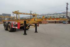 厦工牌XXG9341TJZG型集装箱运输半挂车图片