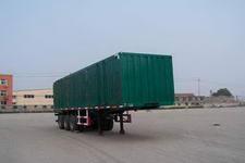 鲁泉牌JZQ9402XXY型厢式运输半挂车图片