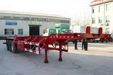 杨嘉牌LHL9382TJZG型框架式集装箱运输半挂车图片