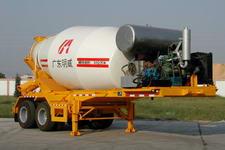 明威7.9米24吨2轴混凝土搅拌运输半挂车(NHG9340GJB)
