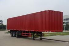 青特14.6米31.2吨3轴厢式运输半挂车(QDT9400XXY)