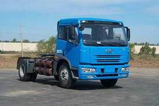 解放牌CA4143P7MX型平头天然气集装箱半挂牵引汽车图片