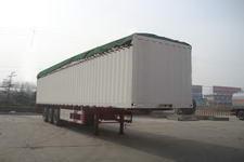 梁山东岳牌CSQ9280XXYP型蓬式运输半挂车图片