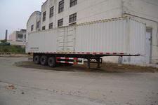 建成牌JC9402XXY型厢式半挂运输车图片