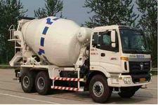 福田牌BJ5253GJB-S型混凝土搅拌运输汽车图片