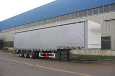 国道牌JG9320XXY型侧帘运输半挂车图片