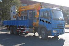 环菱牌CCQ5253JSQ型随车起重运输车