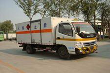 福田牌BJ5049XWY-KS型危险品运输车图片