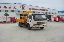 江特牌JDF5080JSQ型随车起重运输车