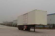 福田牌BJ9230N7X7H型厢式运输半挂车图片