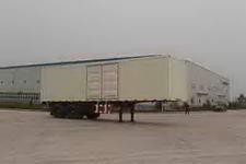 福田牌BJ9320N9X7K型厢式运输半挂车图片