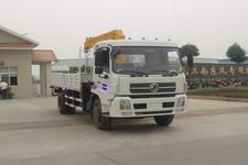 江特牌JDF5130JSQDFL型随车起重运输车