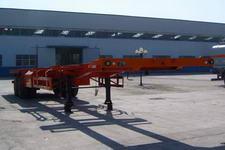 陆锋12.5米30.5吨2轴骨架式集装箱运输半挂车(LST9351TJZG)