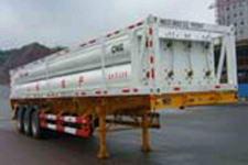 山花牌JHA9370GRQ型燃气运输半挂车图片