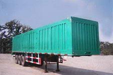 鲁泉牌JZQ9401XXY型厢式运输半挂车图片