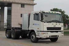 华菱之星牌HN4250PT28C2M3型压缩天然气牵引汽车图片
