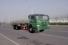 绿叶牌JYJ5254ZXY型车厢可卸式压缩垃圾车图片