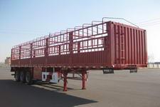 豫新牌XX9390CLX型仓栅式半挂运输车图片