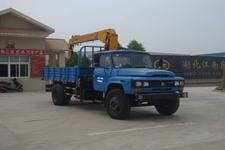 江特牌JDF5110JSQK型随车起重运输车