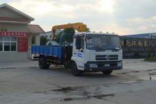 江特牌JDF5080JSQDFL型随车起重运输车