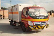 福田牌BJ5071XWY-1型危险品运输车图片