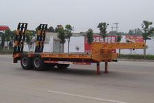 神狐10米27.5吨2轴低平板半挂车(HLQ9351TDP)