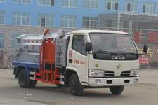 东风多利卡5方挂桶垃圾车