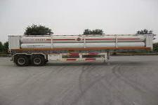 中油通用牌QZY9340GGY型液压子站高压气体长管半挂车