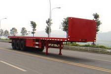 神狐12.5米34吨3轴平板半挂车(HLQ9402TP)