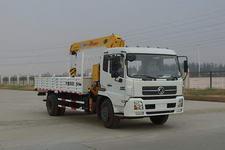 HCQ5141JSQTJ3型华通牌随车起重运输车图片