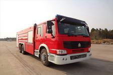 海潮牌BXF5320GXFPM160型泡沫消防车