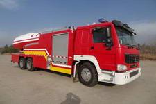 天河牌LLX5263GXFPM60WPH型泡沫消防车