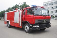 中卓时代牌ZXF5130TXFGF30型干粉消防车