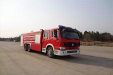 海潮牌BXF5320GXFSG160型水罐消防车