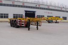 粱锋12.4米35吨3轴集装箱运输半挂车(YL9400TJZ)