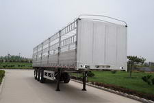 丛林牌LCL9401CCY型铝合金仓栅运输半挂车图片