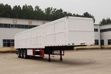 粱锋14米32吨3轴厢式运输半挂车(YL9403XXY)