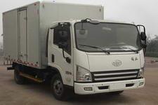 一汽解放轻卡国三单桥厢式运输车106-154马力5吨以下(CA5083XXYP40K2L2EA84-3)