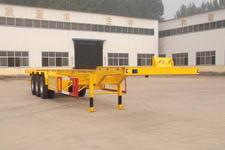 粱锋15米35吨3轴集装箱运输半挂车(YL9401TJZ)