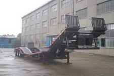 青专15.9米26.3吨3轴商用车辆运输半挂车(QDZ9371TSCL)