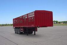英斯泰克牌BYN9402CCY型仓栅式运输半挂车
