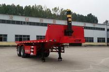 粱锋7.7米29吨2轴平板自卸半挂车(YL9350ZZXP)