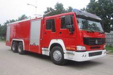 中卓时代牌ZXF5240TXFGF60型干粉消防车图片