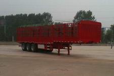 英斯泰克牌BYN9401CCY型仓栅式运输半挂车