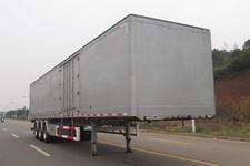 三轴牌CSH9400XXY型铝合金厢式运输半挂车